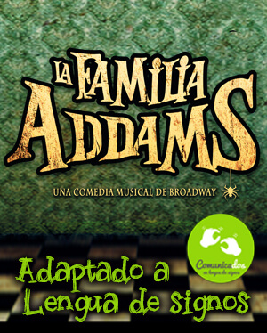 Famila addams Musical Accesible
