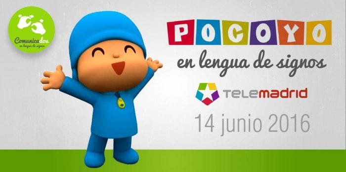 Telemadrid Noticias y Pocoyo 14-06-2016